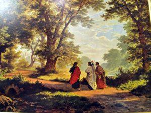 Útban Emmausz felé